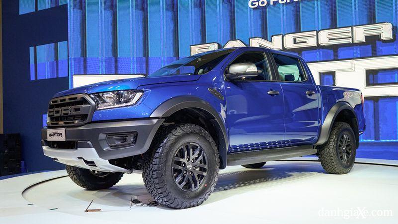 Ảnh Thực Tế Các Màu Của Ford Ranger Raptor 3