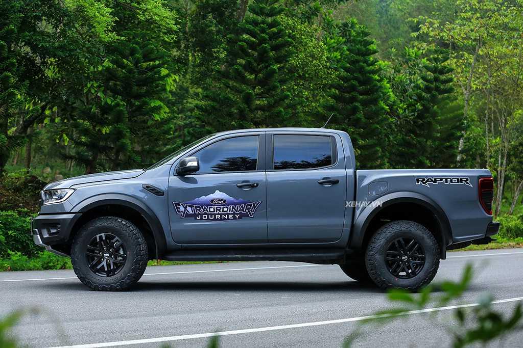 Ảnh Thực Tế Các Màu Của Ford Ranger Raptor 4
