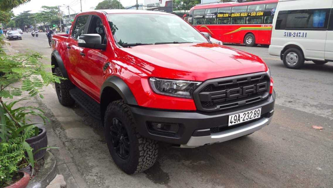 Ford Ranger Raptor Đỏ Race