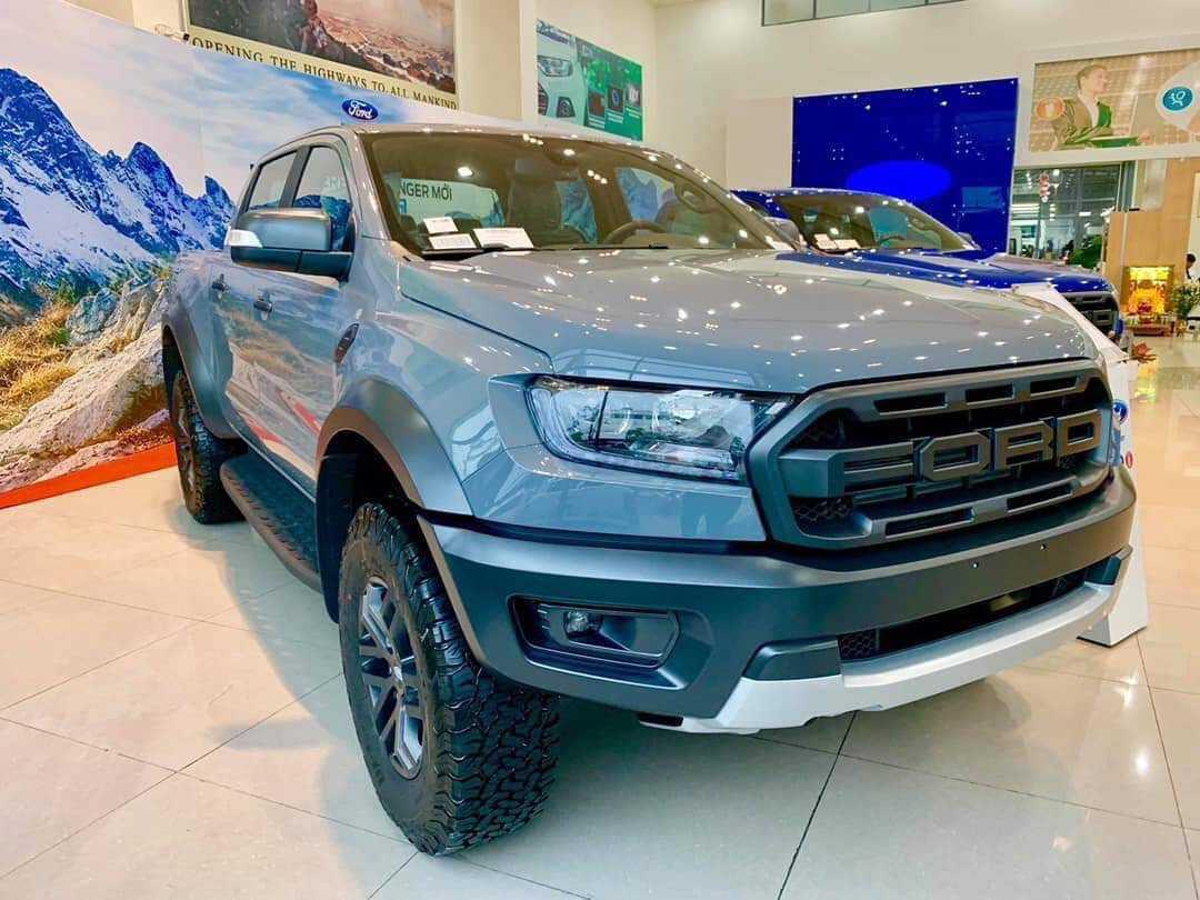 Ford Ranger Raptor Xám