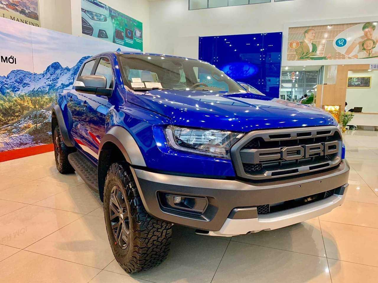 Ford Ranger Raptor Xanh
