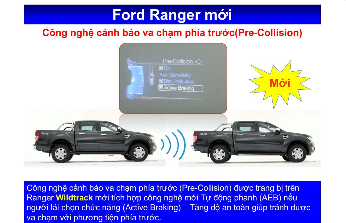 Giá lăn bánh Ford Ranger Wildtrak 4x4 2020 ở Thái bình 9