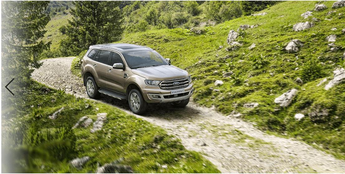 Giá lăn bánh Ford Everest 4×4 2020 ở Hải phòng