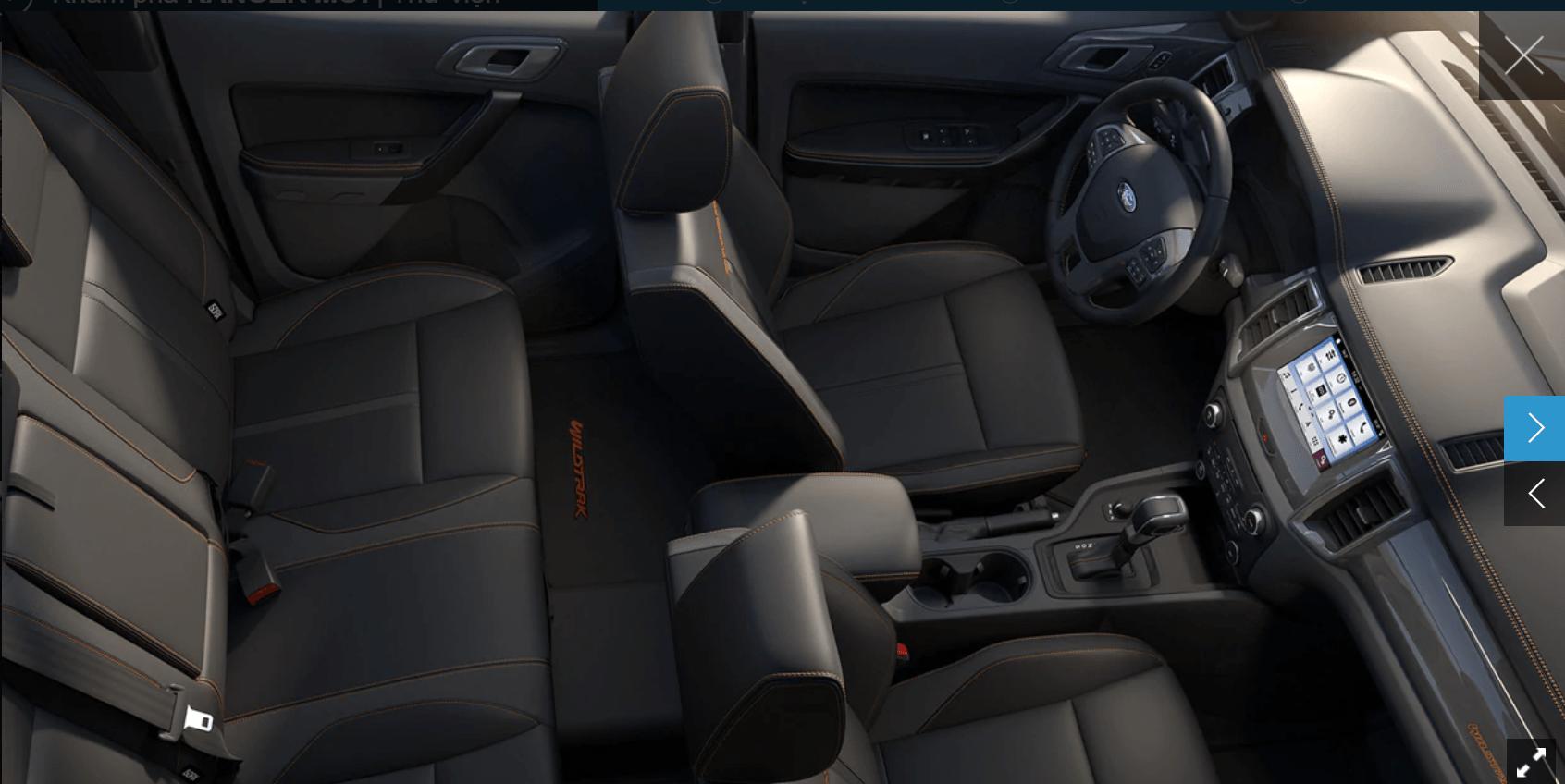 Giá lăn bánh Ford Ranger Wildtrak 4x4 2020 ở Thái bình 13