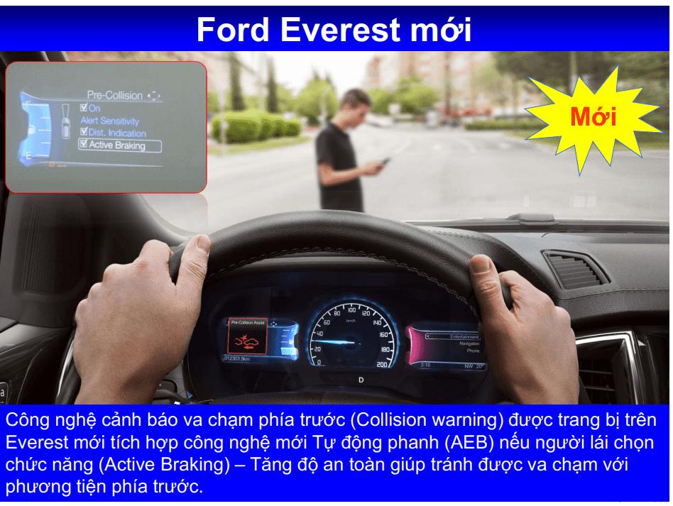 Giá lăn bánh Ford Everest 4x4 2020 ở Thái Bình 14