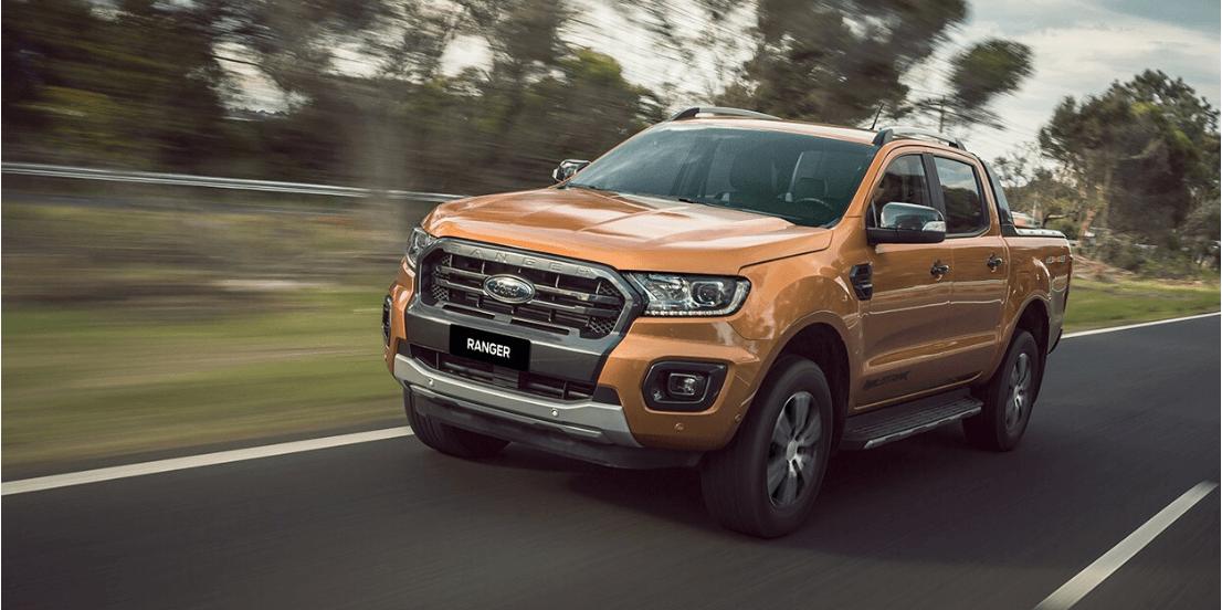 Giá lăn bánh Ford Ranger Wildtrak 4×4 2020 ở Thái bình